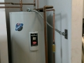 Installed hot water heater for fire station in The Colony